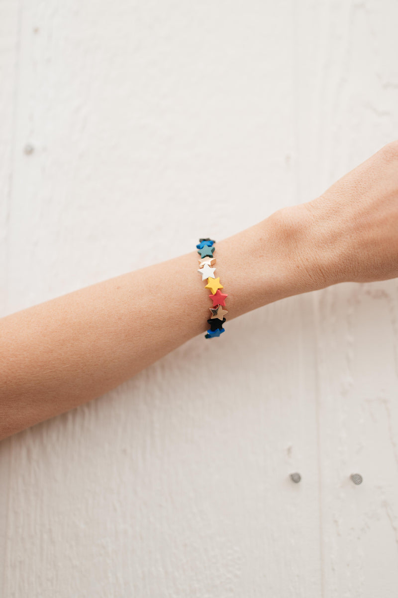 Colors and Stars Bracelet