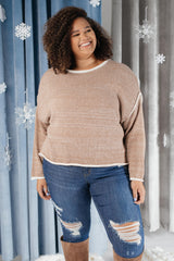 Stitching Elements Sweater