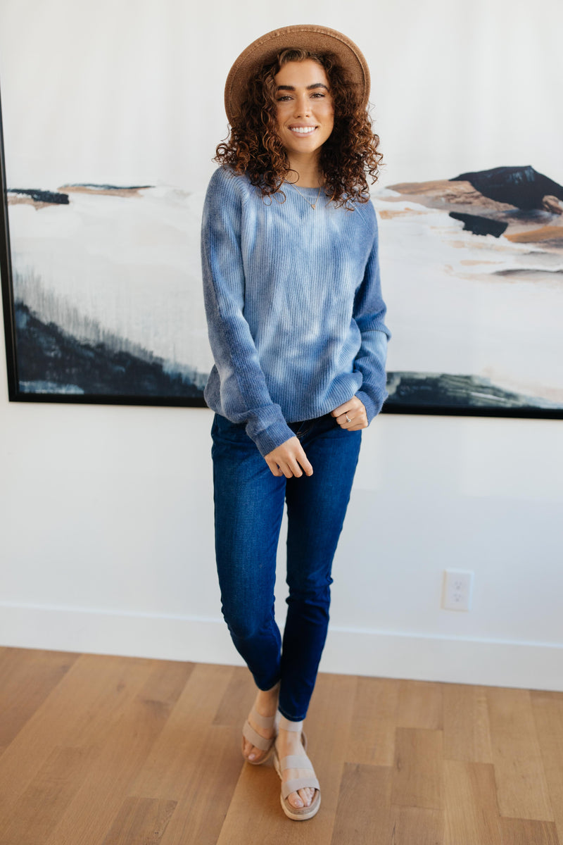 Margo Long Sleeve Top in Blue