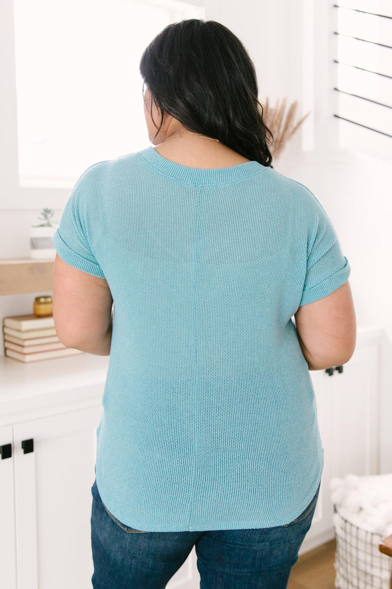 The Morning Bird Top in Blue