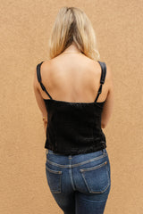 Velvet Vixen Camisole In Midnight