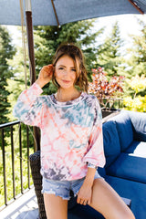 Tie Dyed & Gone To Heaven Pullover