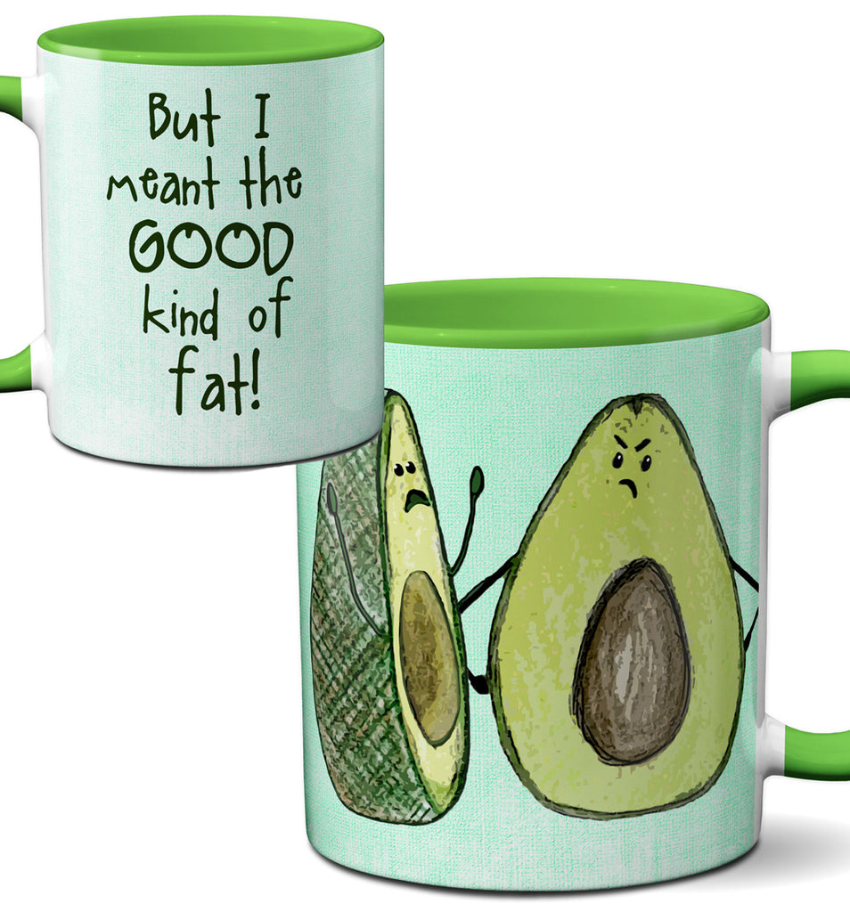 Avocado Fat Mug by Pithitude