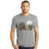 Sasquatch Campfire Buns Men's Short Sleeve T-Shirt