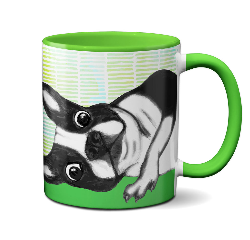 Hangover Boston Terrier Mug by Pithitude