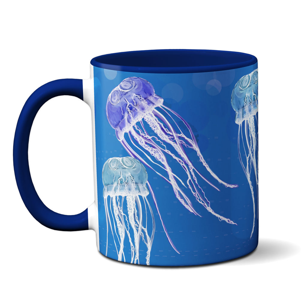Go With the Flow Jellyfish Mug