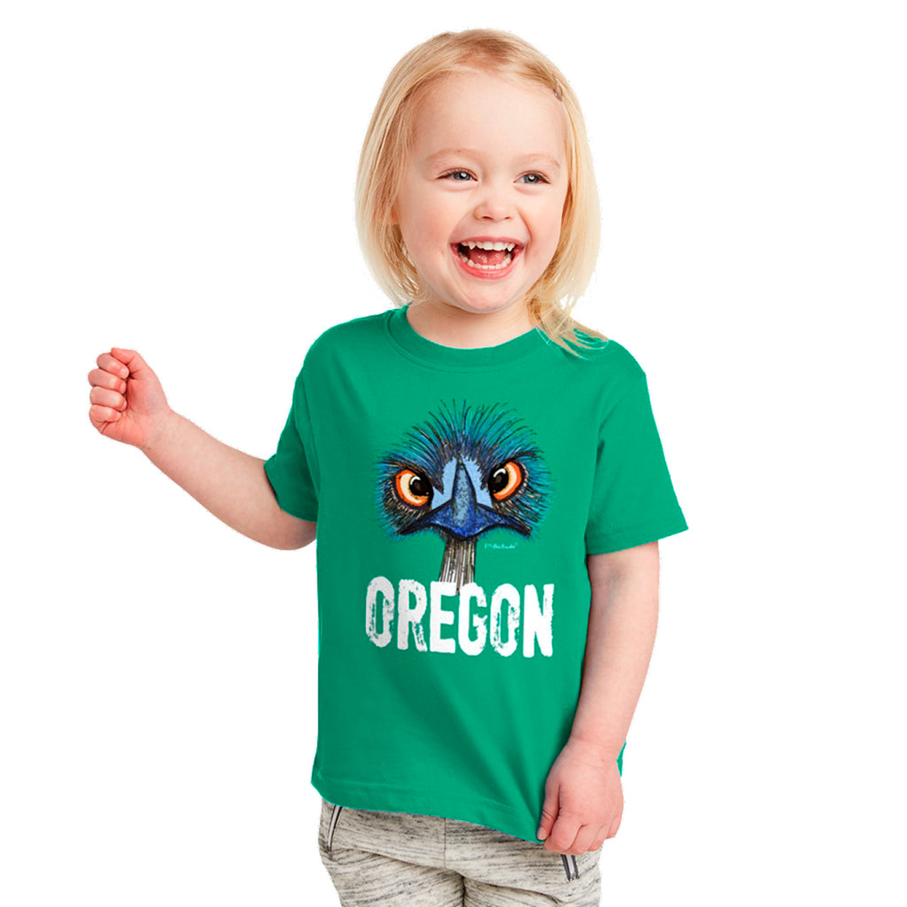 Toddler Oregon Emu Shirt by Pithitude