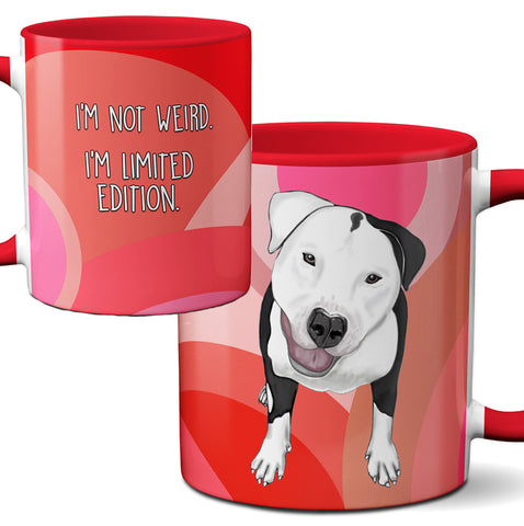 Pit Bull Limited Edition Red Mug Cup
