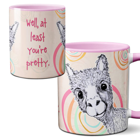 Pretty Alpaca Mug by Pithitude