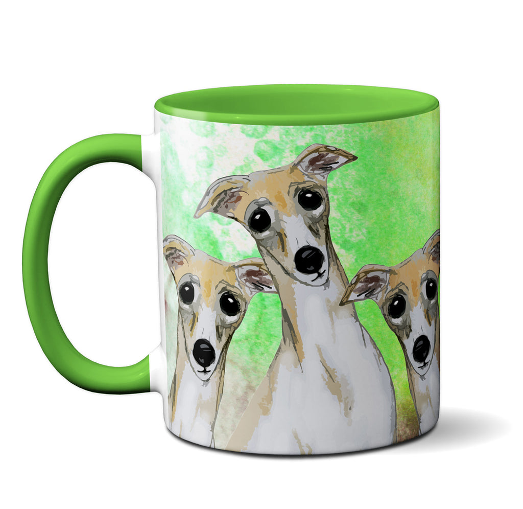 Unsupervised Greyhounds Mug by Pithitude