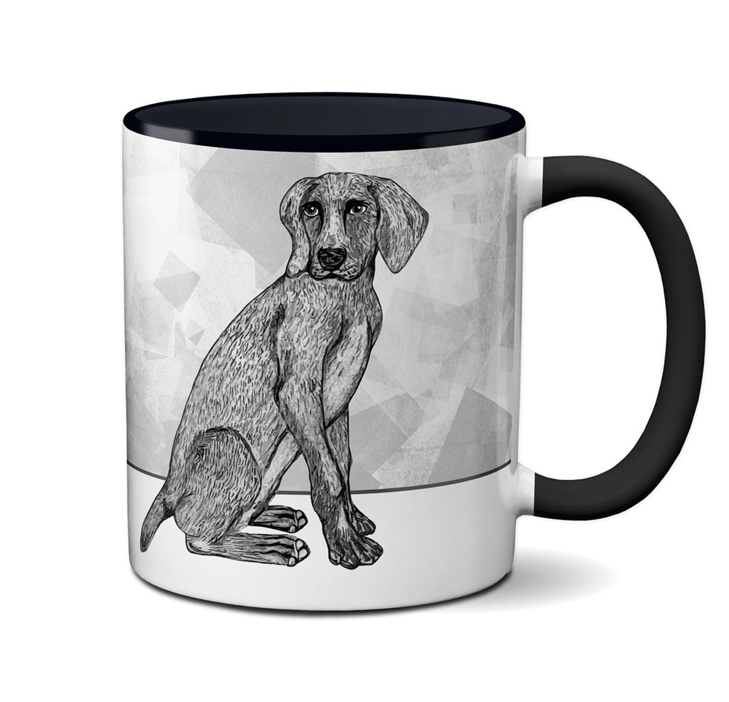 Weimaraner Dog Therapy Mug by Pithitude