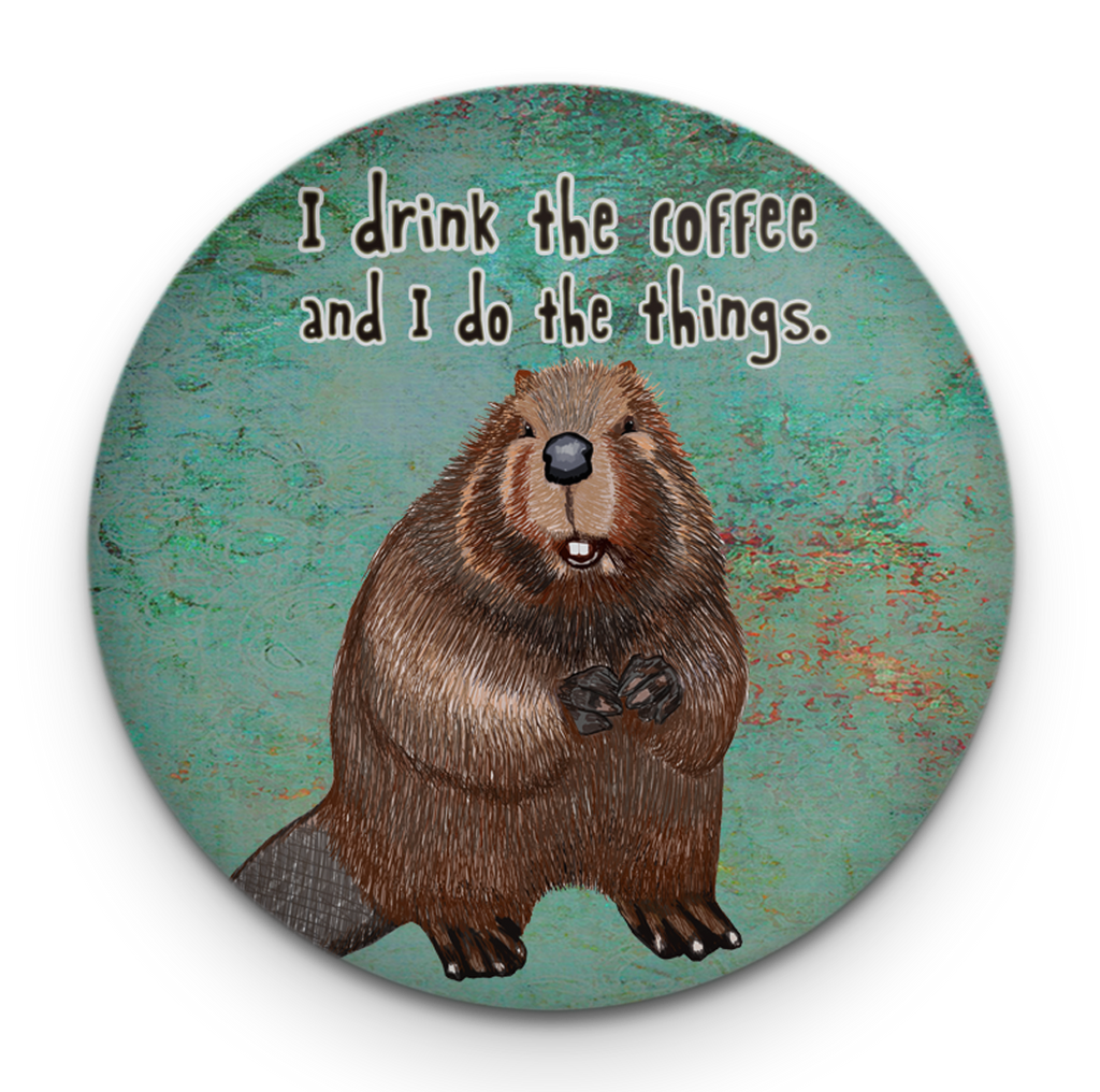 Beaver Things Magnet