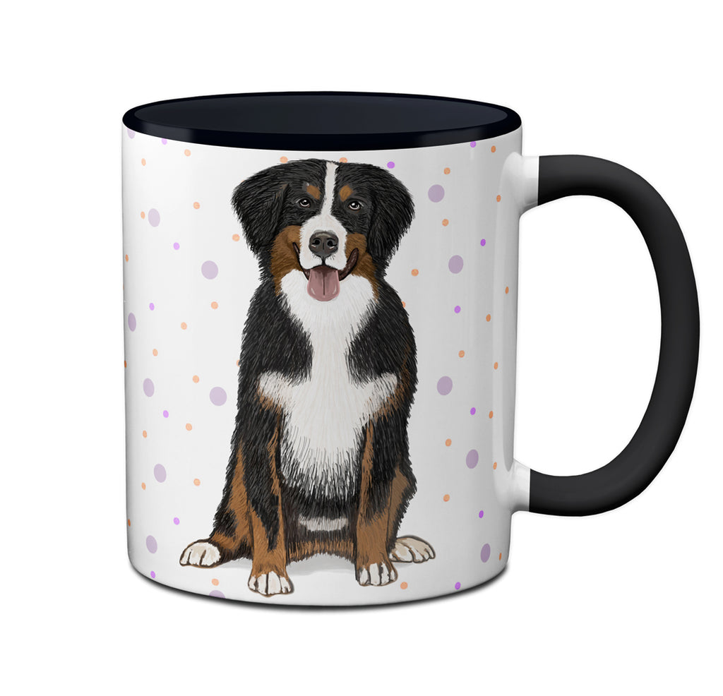 Bernese Mountain Dog Shedding Mug