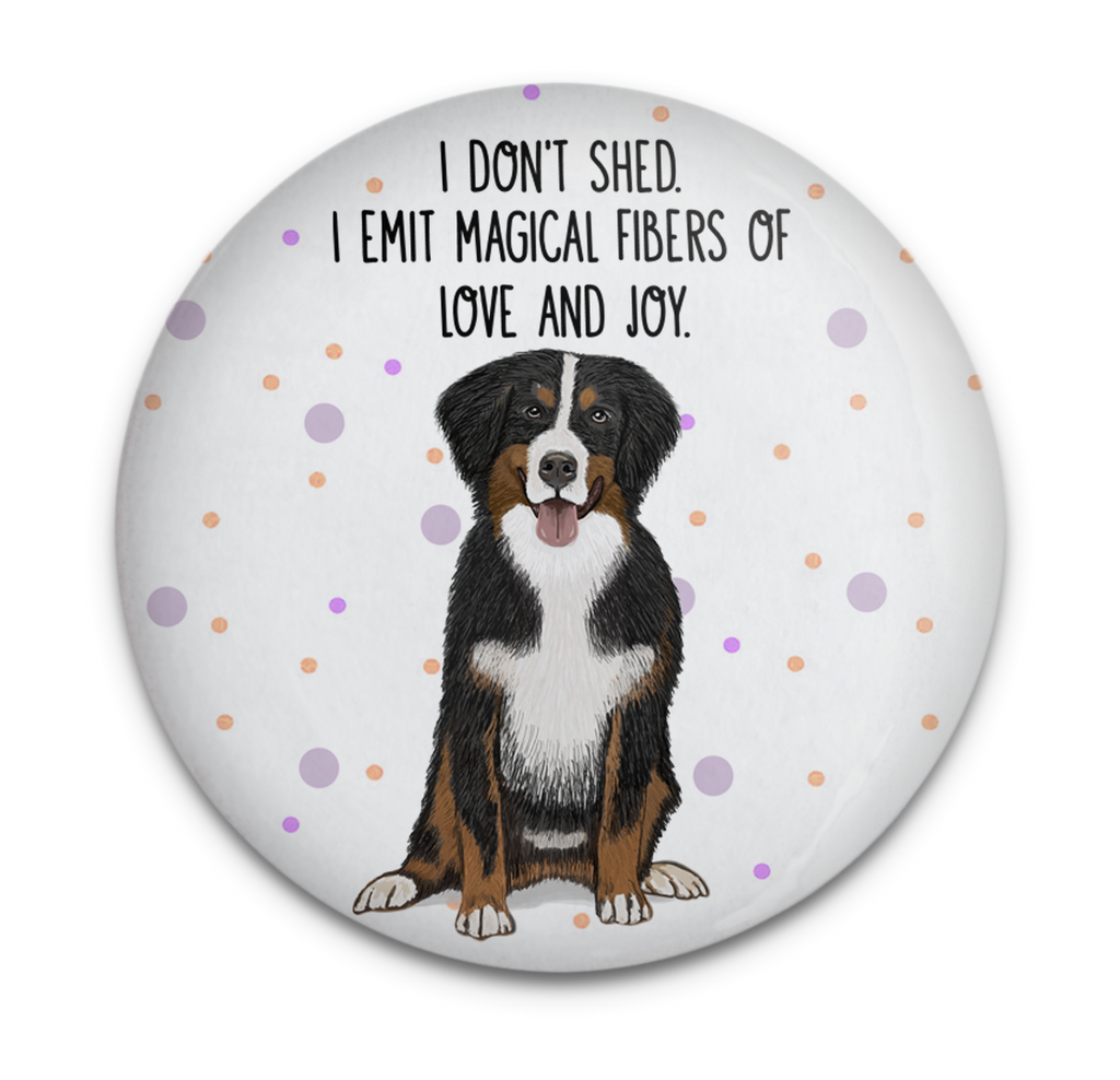 Bernese Shedding Dog Magnet