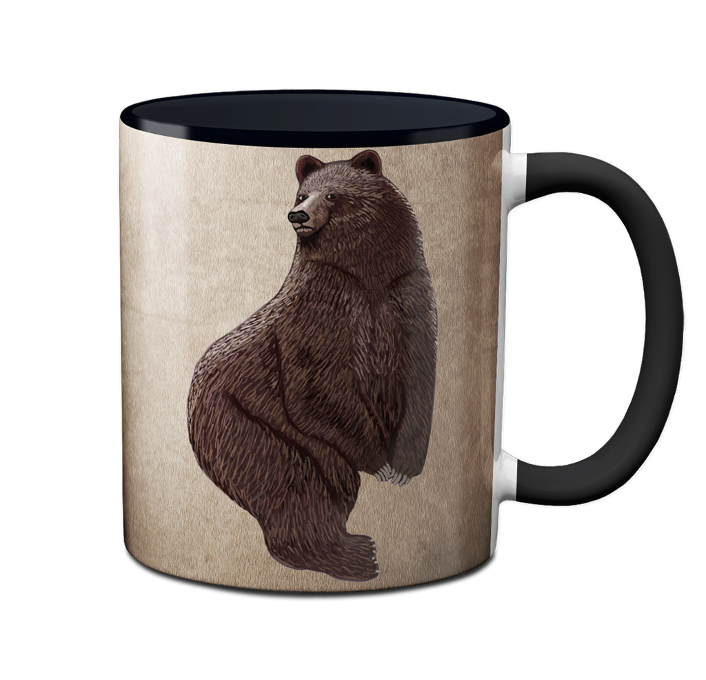 Big Butt Bear Mug by Pithitude