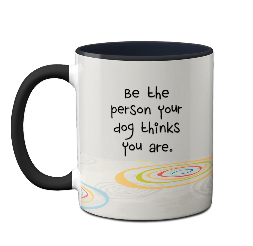 Black Labrador Person Mug by Pithitude
