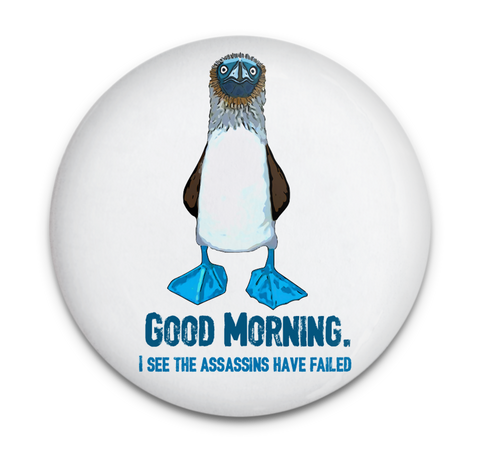 Blue Footed Boobie Assassin Magnet