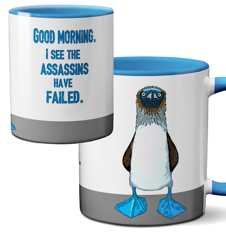 Blue Footed Boobie Assassin Blue Mug