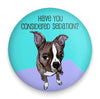Brown Boston Sedation Magnet