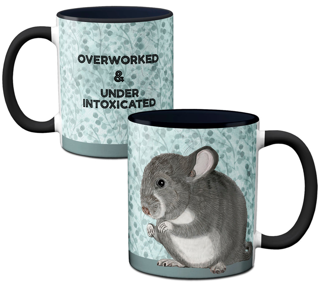 Chinchilla Work Mug by Pithitude