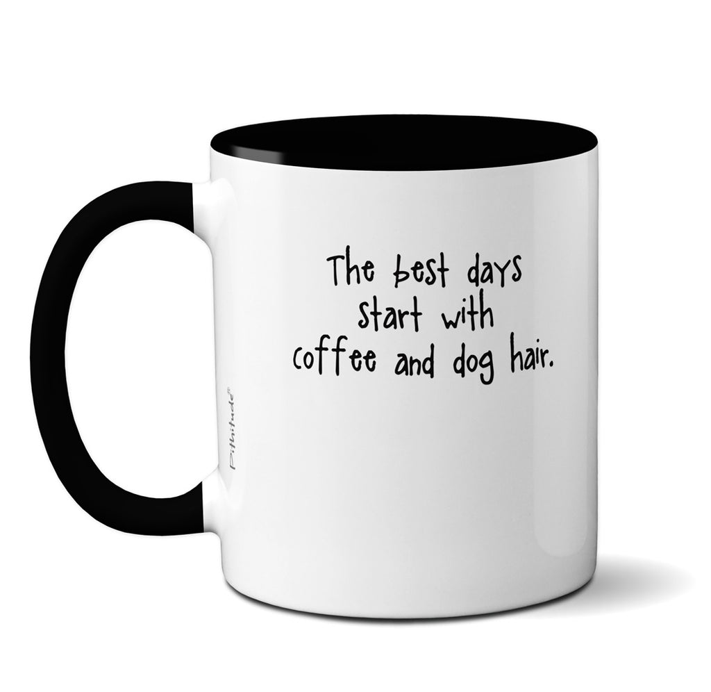 Coffee and Dog Hair Border Collie Mug
