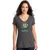 Corks are for Quitters Womens V-neck T-Shirt