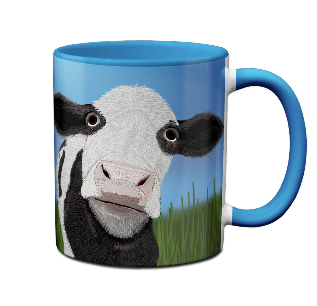 Cow Pasture Mug by Pithitude
