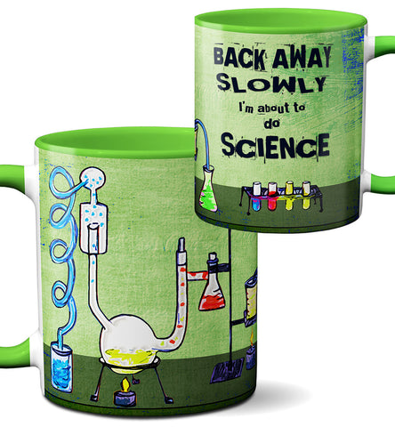 Chemistry Lab Science Funny Green Mug