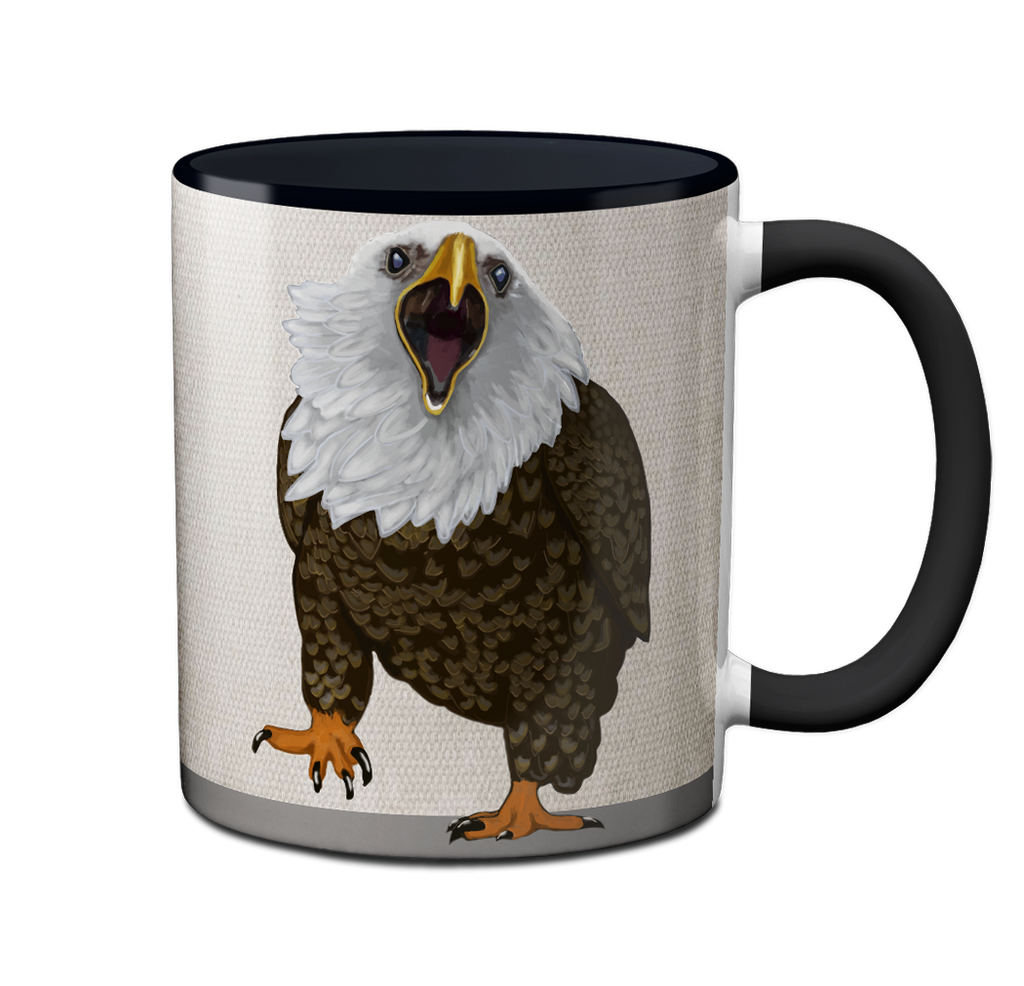 Eagle Coffee Now Mug by Pithitude