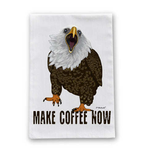 Eagle Coffee Flour Sack Dish Towel