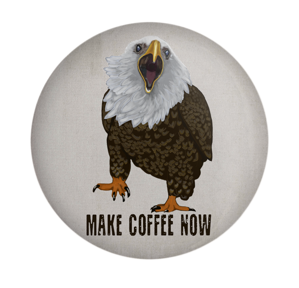 Eagle Coffee Magnet