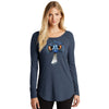 Pithitude Emu Long-sleeved Tunic Ladies Shirt