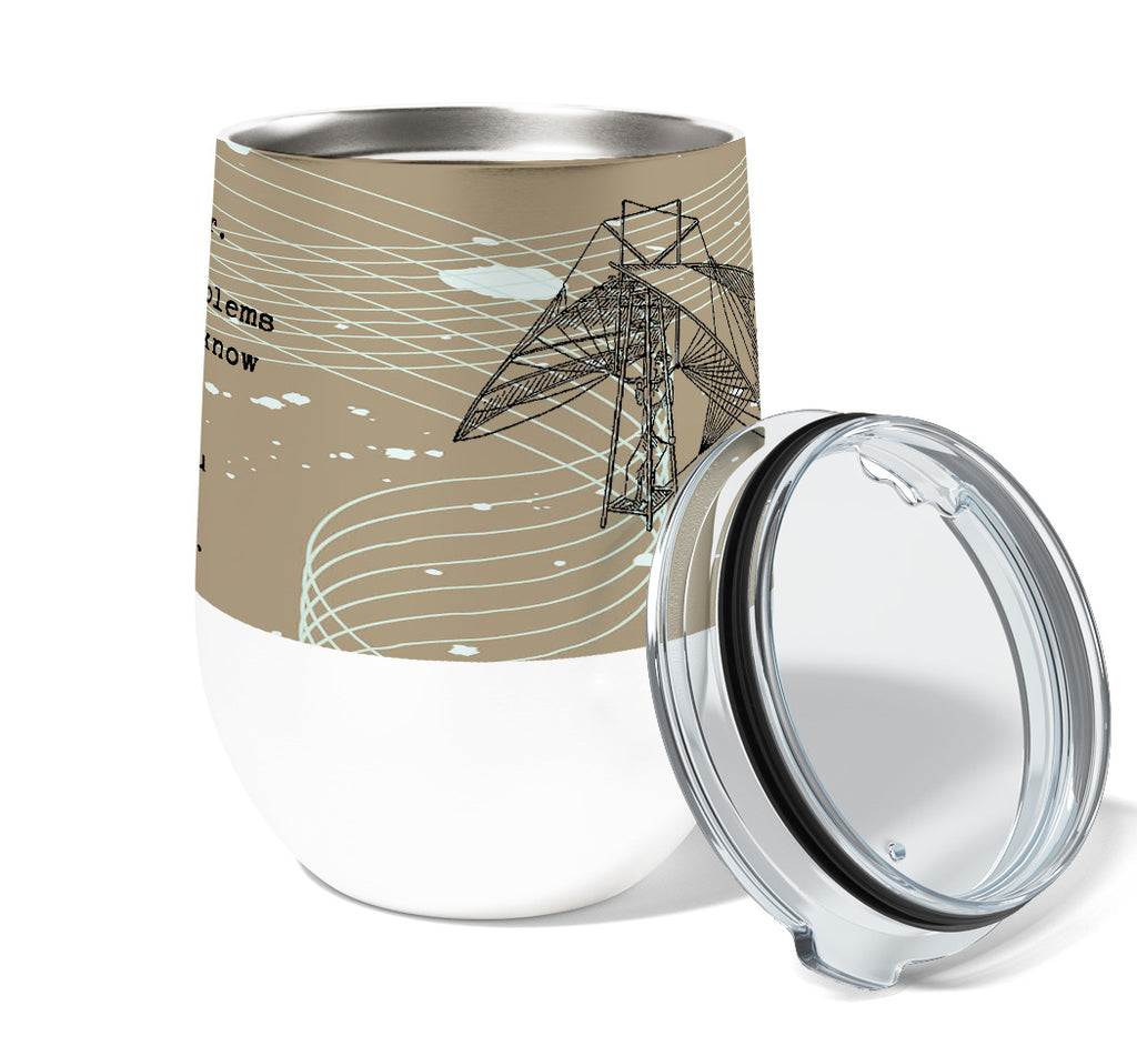 Engineer Stainless Steel Wine or Coffee Tumbler