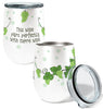 Green Grapes Pairing 12oz Stemless Insulated Stainless Steel Wine Tumbler