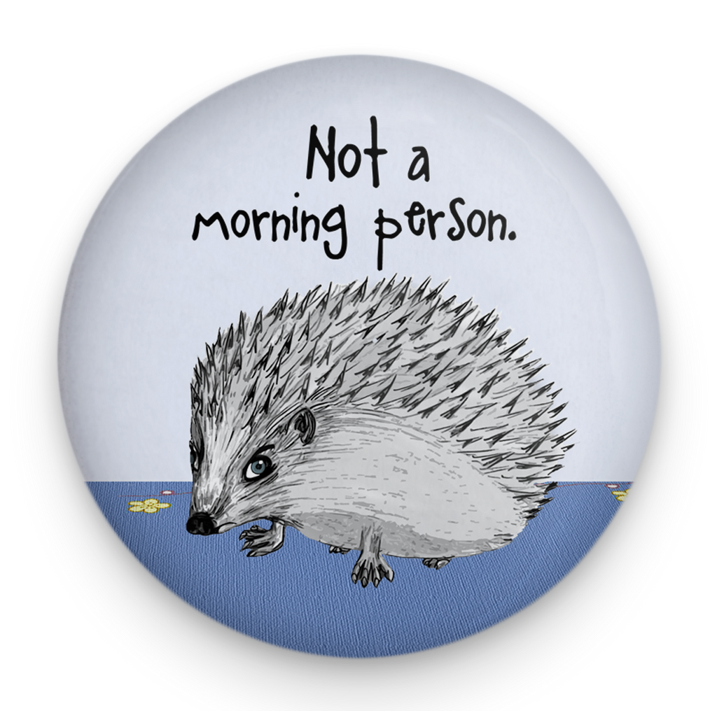 Morning Hedgehog Magnet