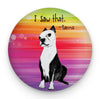 Karma Boston Terrier Magnet