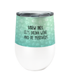 Mermaid Wine 12oz Insulated Stainless Steel Wine or Coffee Tumbler