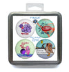 Microbiology Magnet Set 1 - Pack of 4 Magnets
