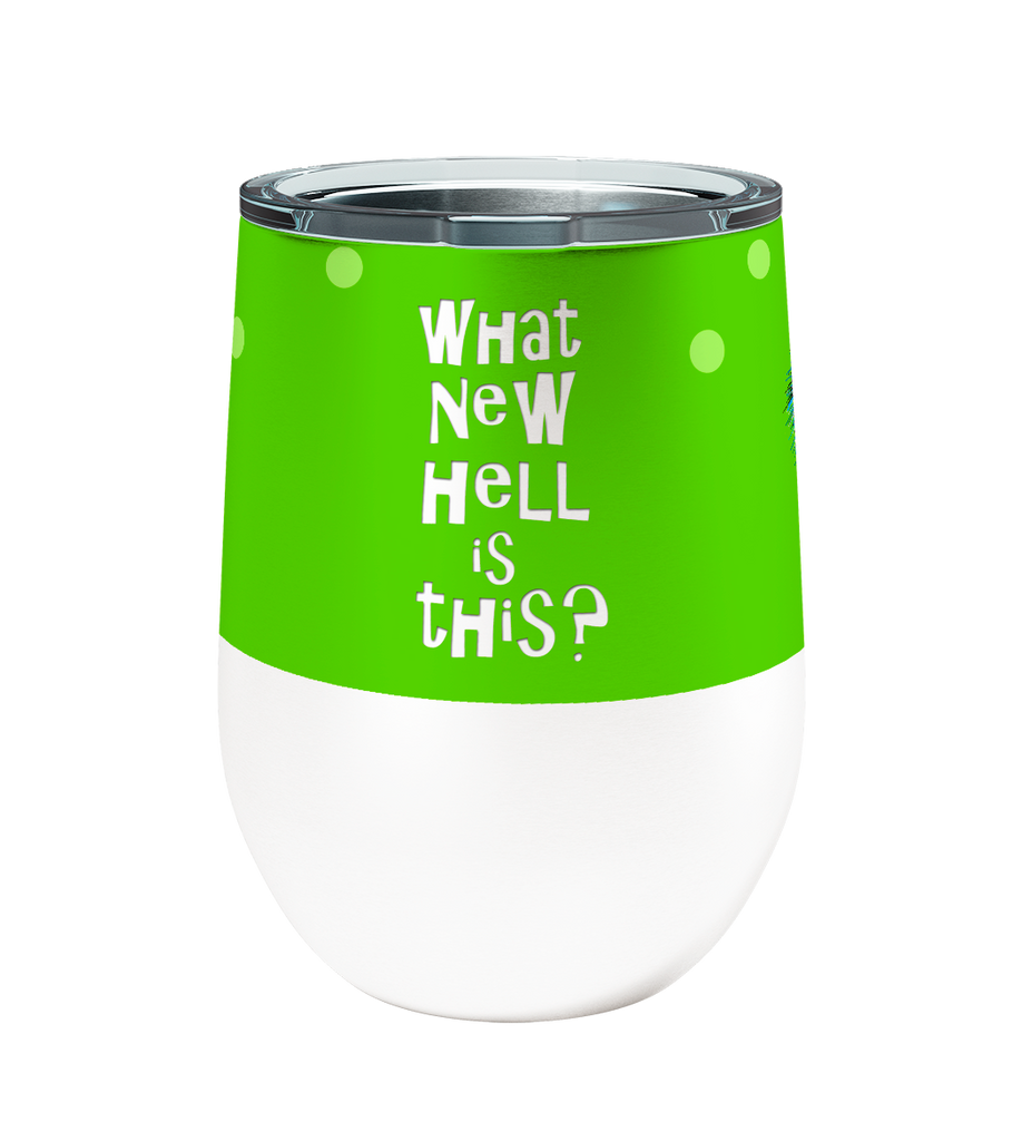 What New Hell Bird 12oz Stemless Insulated Stainless Steel Wine Tumbler