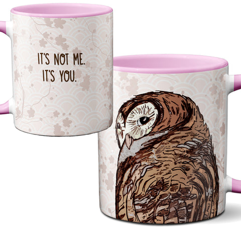 Not Me Owl Mug by Pithitude