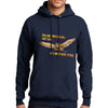 Owl Dreams Sweatshirt Navy Fleece Unisex Hoodie