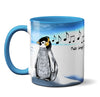 Penguin Music Mug by Pithitude