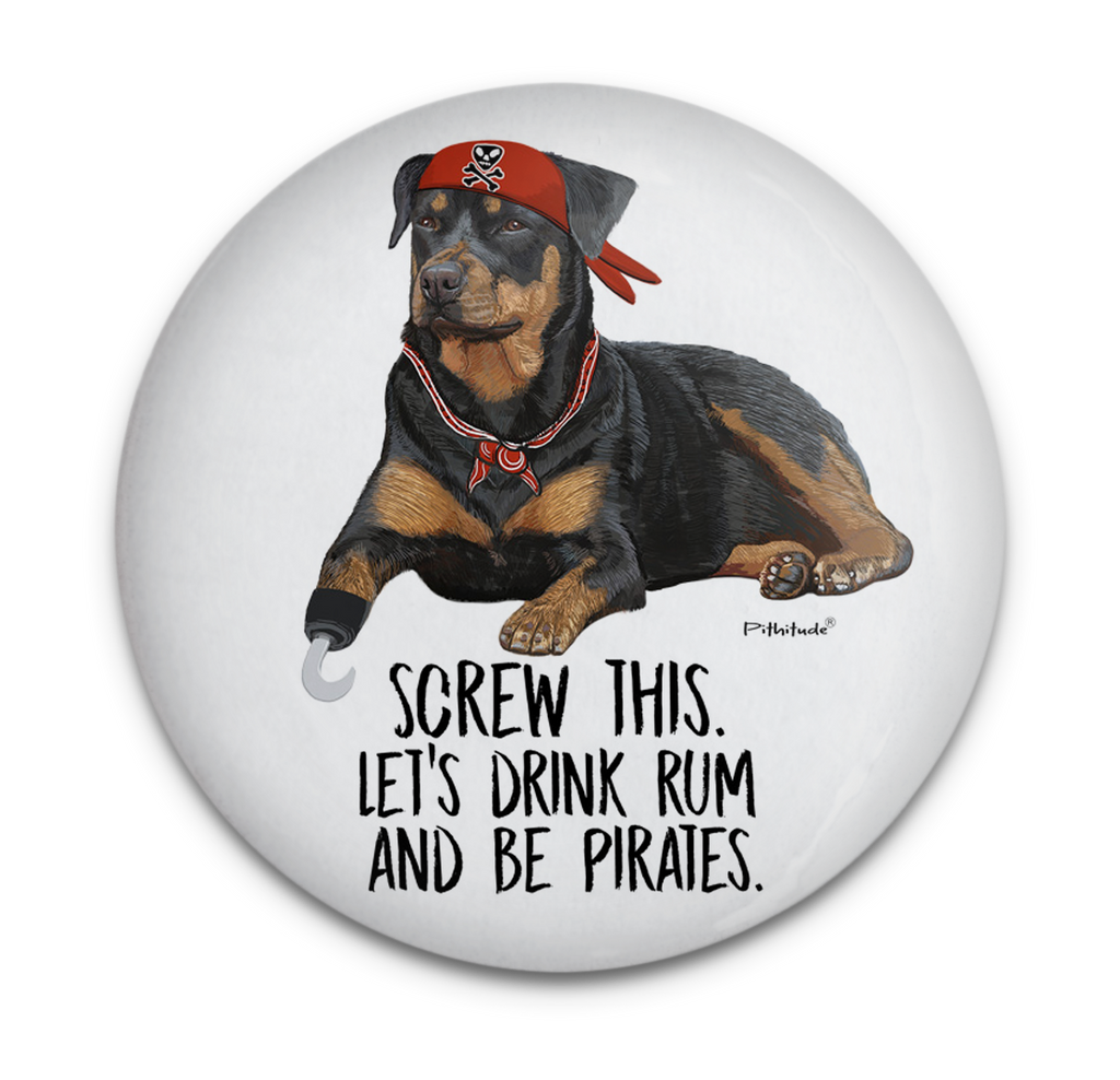 Pirate Dog Magnet