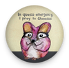 Queso Mouse Magnet