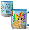 Rainbow Butterfly Unicorn Kitty Mug
