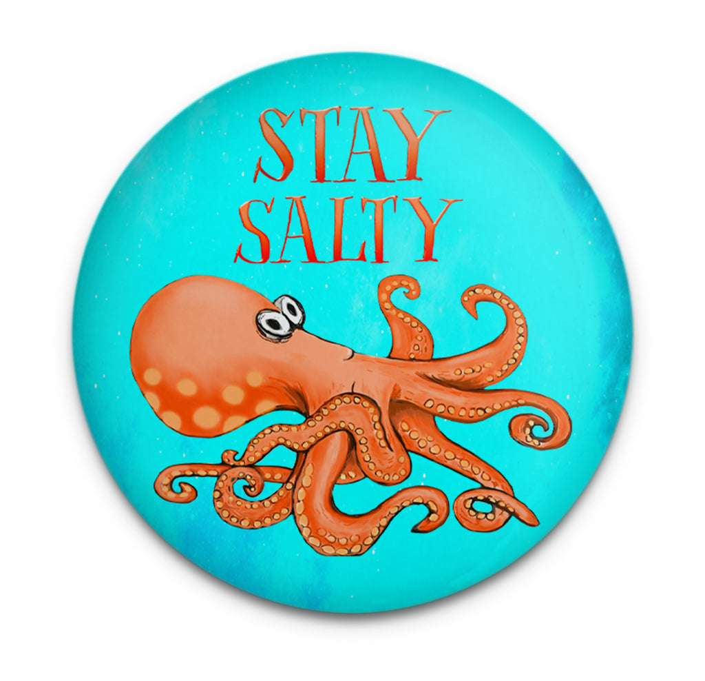 Salty Octopus Magnet