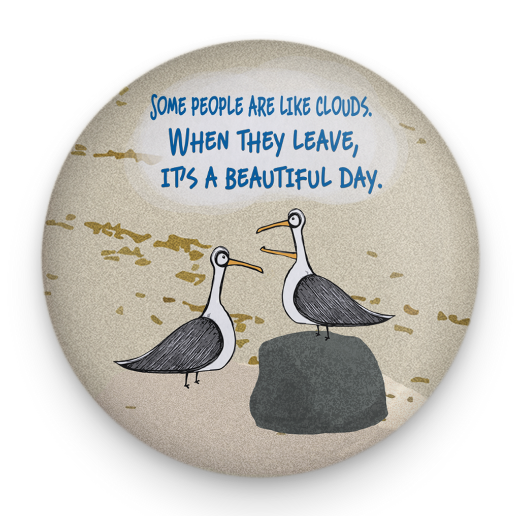 Seagull Clouds Magnet