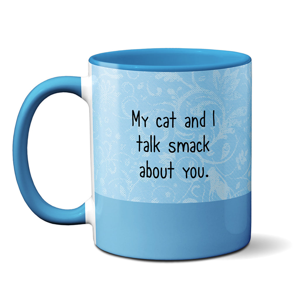 Smack Talking Calico Mug by Pithitude