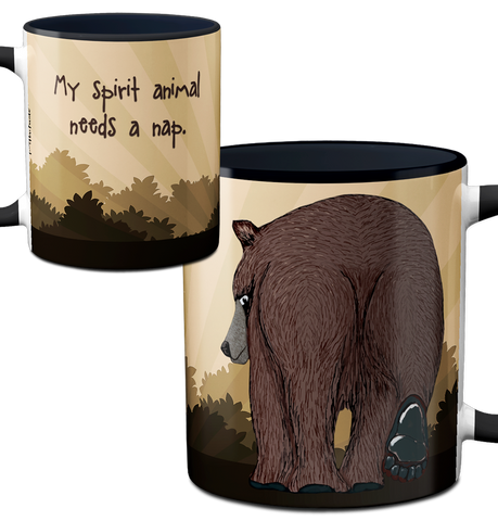 Spirit Bear Mug by Pithitude