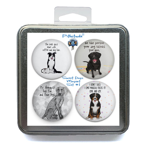 Sweet Dogs Magnet Set #1